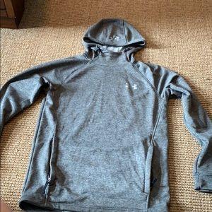 Men's under amour grey hoodie
